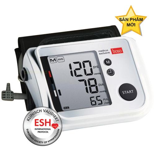 Ra mắt 3 dòng máy đo huyết áp thế hệ mới của Boso